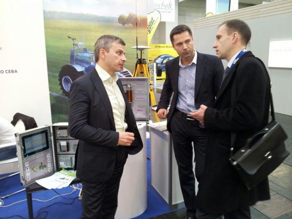 РКС на Agritechnica, GPS-мониторинг, контроль топлива